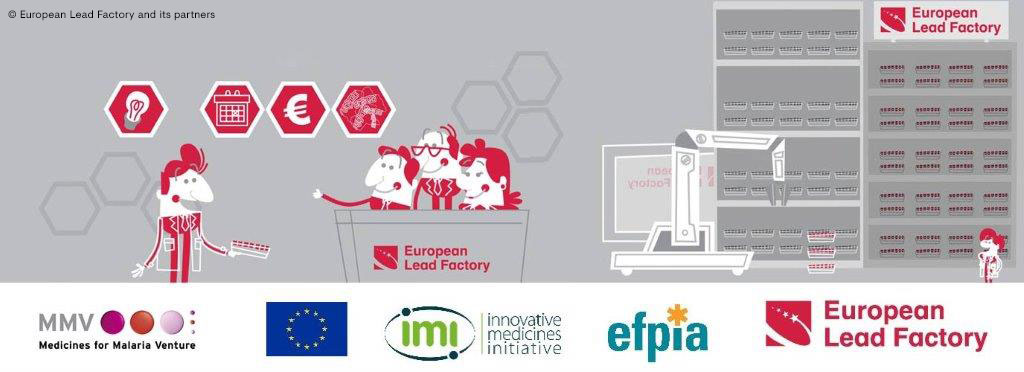 "The European Lead Factory: Collective intelligence and cooperation to improve patients' lives  -  ""© European Lead Factory and its partners"